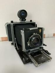 Linhof Master Technika With Lens From Japan Fedex Rare Tested [excellent++]