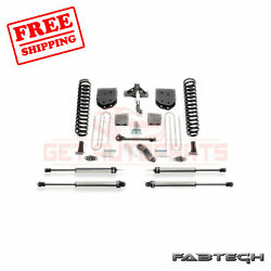 Fabtech 6 Basic Syst W/ Ss Shocks For Ford F450 4wd 10 Lug Chassis Cab 11-13