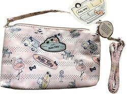 NWT JU JU BE HELLO KITTY Hello Summer Be Quick w Straps Diaper Baby Bags Mom $26.99