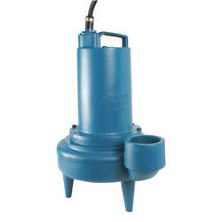 Barnes 133117 Sewage Ejector Pump3 Hp3 Phases