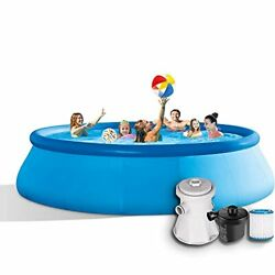 Swimming Pools Above Ground Pool – 12ftx30in Quick Easy To Set Pool, Pools For B