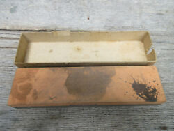 Vintage Norton Sharpening Stone 8x2x1 May Be Aluminum Oxide Type Ii Class A