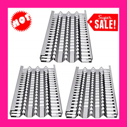 18 5/8 Stainless Steel Radiant Tray Heat Plates For Dcs Bbq Gas Grill Repair