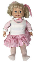 Playmates Cricket 1985 Doll With Tape