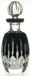 Waterford Crystal Lismore Black Spirits Decanter And Stopper 11123434