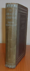 Amyas Northcote IN GHOSTLY COMPANY First edition 1922 RARE Ghost Collection