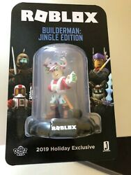 Roblox Builderman Jingle Edition Toy 2019 Holiday Exclusive - Extremely Rare