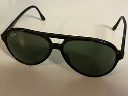 Aviator Traditionals Style A L1668 Black Tortoise Bausch And Lomb Madeusa