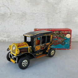 Vintage Old Jalopy Marx Tin Car Jaropy Tinplate Collectable Objects Toys Toy