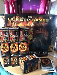 Hunger Games District 12 Strategy Game/20 Mini Figurines/jabberjay Card Game Lot