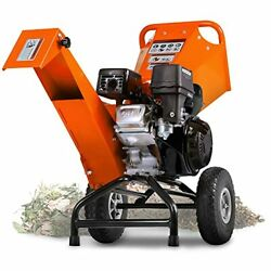 Wood Chipper Shredder Mulcher 7hp Engine Heavy Duty Compact Rotor Assembly