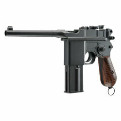 Umarex M712 Full-auto Blowback Co2 Bb Pistol 0.177 Cal 18rd Mag Wwii Broomhandle