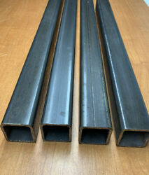 """4-pack 1.5""""x1.5 X96l 1/8"""" Thick 11 Guagesteel Square Tubing Freeandfast Ship"""