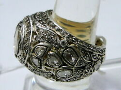 Victorian Vintage Antique 14 K Solid Gold Diamond Ring Jewelry Free Ship