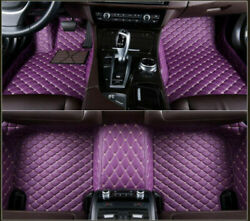 For Dodge Challenger 2014+car Leather Carpet Floor Mats Foot Pads Full Covered