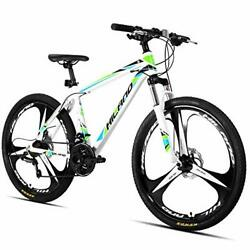 Hiland 26 Inch Mountain Bike Aluminum Mtb Bicycle With 17 Inch Frame Kickstand