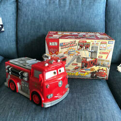 Disney Cars Tomica Urgence Relooking Rouge