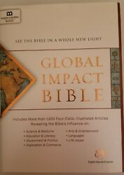 Global Impact Bible, Esv Hardcover See The Bible In A Whole New Light 2017,