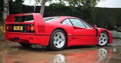 17 Inch Aftermarket Forged Classic F40 3piece Wheels Set- Custom Fit For Ferrari