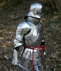 Larp Armor Gothic Plate Armour Medieval Replica Suit Cosplay And Decorative Gift