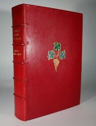 1969 Wines Of The World Andrandeacute L Simon Numbered Signed Limited Edition Zaehnsdorf