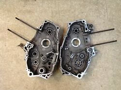 Used 2003-07 Canam Bombardier Ds650 Baja Left And Right Engine Crankcase 420296346