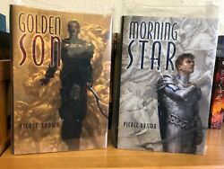 Golden Son And Morning Star By Pierce Brown - Subterranean Press - Signed Limited