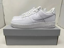 Nike Air Force 1 And03907 Low Menandrsquos Triple White All Sizes 6 To 15 New Cw2288-111