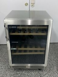 Liebherr Wu3400 24 Inch Built-in Dual Zone Wine Cooler With 34 Bottle Capacity