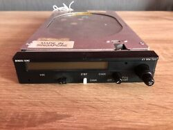 Bendix/king Ky 96a Vhf Radio P/n. 064-1052-70 With Tray And Connector