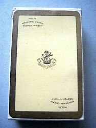 Vintage Playing Cards Holts Mountain Cream Whisky Duty Sealed Whiskey 1952