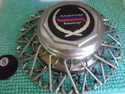 American Racing E.t. Chrome Faux Wire Spoke Wheel Cover W/center Cap 4512 And 4513