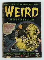 Weird Tales Of The Future 5 Gd- 1.8 1953