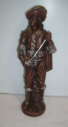 Vintage Don Juan Replacement Figure For Oil Rain Lamp - 12' Tall