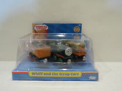 Whiff And The Scrap Cars Wooden Wood Train Toy Thomas And Friends Very Rare