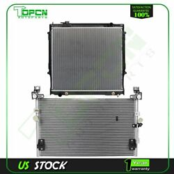 Fits 1998-2004 Toyota Tacoma Replacement Radiator And Condenser Cooling Assembly