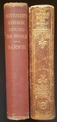 Rare 1887,1907 Charles Darwin Voyages Round The World On H.m.s. Beagle Hard2find