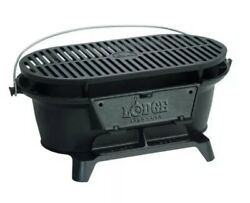 Lodge Bsr Cast Iron Sportsman's Grill New Open Box Usa Made