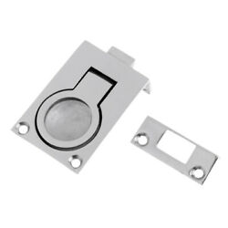 Boat Pull Hatch Latch Lift Ring Handle Flush Mount Stainless Steel Handle