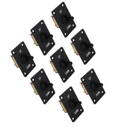 8pcs Reliable Marine 3-pin Up Down On/off/on Momentary Toggle Switch Panel 12v