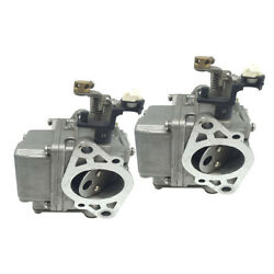 2x Marine Carburetor Assembly For Yamaha 2-stroke 9.9/15hp Outboard Engines