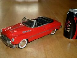 1950 Buick Sheet Metal Body [friction Action] Car Toy Scale 1/18vintage Japan