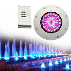 18w Rgb Waterproof Underwater Led Lights With Remote For Swimming Pool Hot Sale