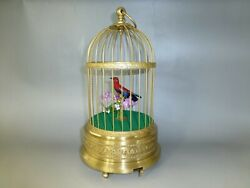 Magician Del Ray Singing Chirping Animated Bird Automata Created By Frank Paris