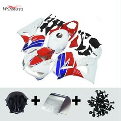 For 2013-2020 Cbr600rr Red White Abs Plastic Injection Fairing Kit Body Covers