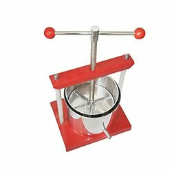 Master Cheese Tincture Herb Fruit Wine Manual Press -1.6gallon/ 6 Litre-power