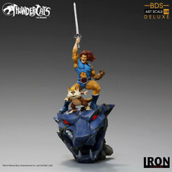 Thundercats Lion-o And Snarf 1/10 Bds Art. Andeacutechelle Deluxe Statue Iron Studios