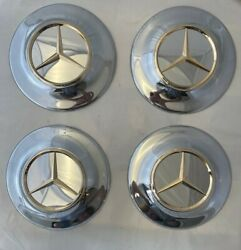 Mercedes 14 Old Style Chrome Wheel Covers
