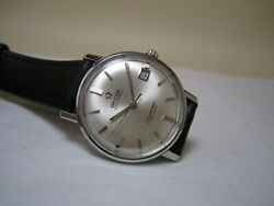Omega Seamaster De Ville Automatic Date Stainless Steel 1969 Watch