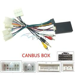 Car Audio Stereo 16 Pin Wiring Harness W/canbus For Subaru Xv Crosstrek Forester